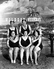 STAN LAUREL & OLIVER HARDY Photo FAT SWIMSUIT GIRLS James Finlayson HAL ROACH