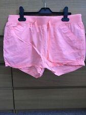Neon Orange Shorts UK10