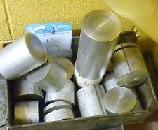 "5 x 82.55mm 3 1/4"" diamètre aluminium round bar end matériel d'usinage off cut"