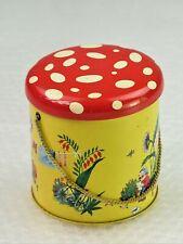 boite métal ancienne Chocolat Côte-d'Or lutins gnomes nutons vintage tin box