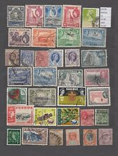 STAMPS LOT BRITISH COLONIES E TERRITORIES   USED (L29198)
