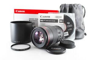 [Mint Canon EF 100mm f/2.8L MACRO IS USM AF Lens From Japan