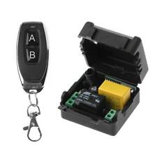 AC 220V 10A 1CH RF 433MHz Wireless Remote Control Switch Receiver +Transmitter