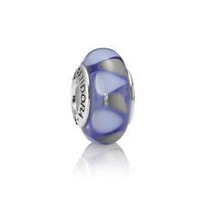 """Genuine Pandora Murano Glass Bead """"Captivating Blue"""" - 790637 - retired"""