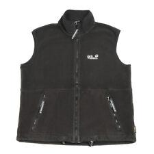 JACK WOLFSKIN Nanuk Sleeveless Fleece Jacket | Small | Vest Gilet Bodywarmer
