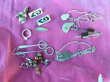 Assorted Lot Of Sterling Silver Jewelry, Rings, Necklaces And Earrings