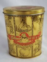 Goldkenn William Tell No.2 Swiss Chocolate Cigars Tin Vintage 1998 1999 - EMPTY