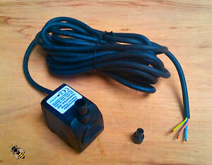 Water Feature Pump 450ltr Outdoor Mains 10 Meters Cable New
