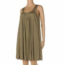 TWENTY8TWELVE Dress Khaki Green Sleeveless Loose Fit Shift Size UK 12 SW 250