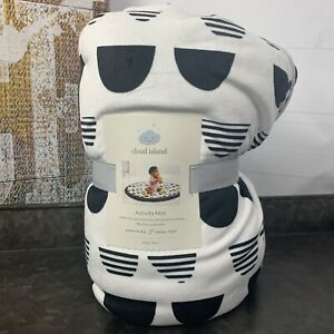 """Cloud Island Baby Activity Round Mat 36"""" for Tummy Time, Sitting & Crawling NWT"""
