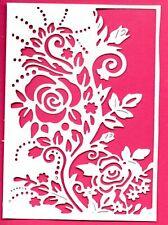 Nuevo Marco de Borde Floral Die Cortes-White. Topper Mamá Cumpleaños De Jardín