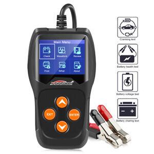 KONNWEI KW600 Battery Tester 12V Car Battery Tester Diagnostic Tools 100-2000CCA