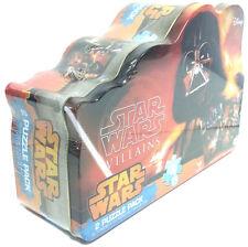 Darth Vader Star Wars Villains 2 Puzzle Pack W/ Collectible Tin 100 Piece Disney