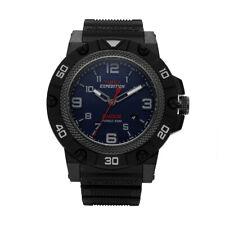 3b93fc11cc7c Timex TW4B01100 campo de expedición resistente a los golpes Correa De  Resina Negra para Hombre Reloj
