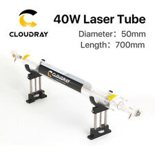 40W CO2 Laser Tube Dia.50mm Length 700mm for Laser Engraver Cutter Water Cooling