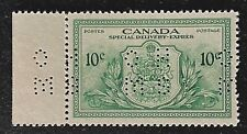 Canadian Stamp, Scott OE11 10c 1946 Special Delivery XF M/NH - hinge on selfvage