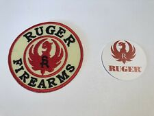Ruger Firearms ' 75mm Patch & Ruger  Cell Sticker