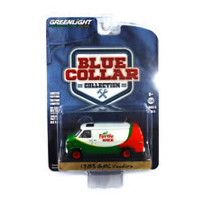 "Greenlight 35120 GMC Vandura "" Turtle Wax "" Green / Ws - Blue Collar Collection"