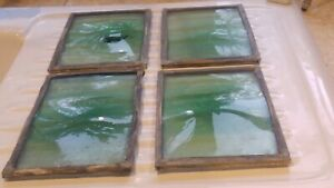 Antique lead Light Bullions green colour,  very old in lead