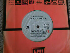 "Tenpole Tudor - Swords Of A Thousand Men, 7"" 45 rpm"