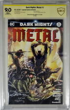 DARK NIGHTS: METAL #1 Limited Edition #3/100 CBCS 9.0 SIGNED by NEAL ADAMS