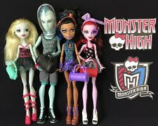 MONSTER HIGH DANCE CLASS 4 DOLL LOT - LAGOONA, GIL, ROBECCA & OPERETTA - 2013