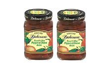 Dickinson's Premium Sweet 'N' Hot Pepper & Onion Relish (Pack of 2) 8.75 oz Jars