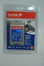 Brand NEW SanDisk 6-in-1 PC Card Adapter SDAD-67-A10