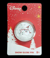 Loungefly Disney Collectible Baymax Snow Globe Christmas Pin NEW