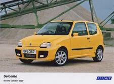 Fiat Seicento Abarth Period Press Photograph - 2000