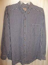 SONOMA Long Sleeve NAVY BLUE COTTON Men's Shirt Size XXL