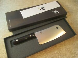 Shun Classic 6 inch Meat Cleaver - DM0767 - EUC w/Box