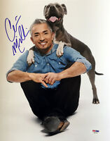 CESAR MILLAN SIGNED AUTOGRAPHED 11x14 PHOTO DOG WHISPERER CESAR 911 PSA/DNA