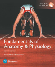 NEW BOOK ONLY. NO CODE - Fundamentals of Anatomy & Physiology by Martini (11 Ed)