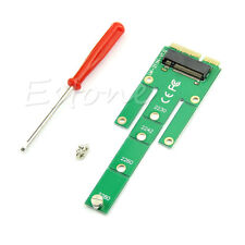 mSATA Mini PCI-E SATA 3.0 SSD to NGFF M.2 B + M  Key Male Adapter Converter Card