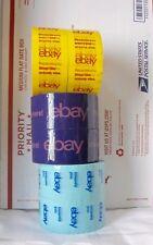 6 (Six) Rolls New Colors! Purple, Blue, Yellow eBay Branded BOPP Packing Tape