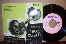 TEDDY BUCKNER VOL 6,  VOGUE RECORDS FRANCE 1950'S  MINT-