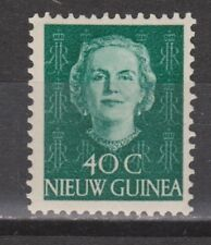 Indonesia Nederlands Nieuw Guinea New Guinea 14 MNH PF 1950-1952 Juliana