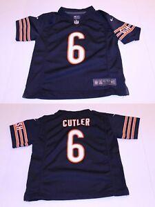 Youth Chicago Bears Jay Cutler L (7) Sz 7 Jersey (Navy Blue) Nike Jersey