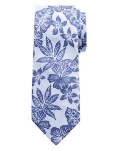NWT Banana Republic Blue Vintage Aloha Floral Tie