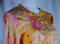 J.Crew Women's Button Up Blouse Size Small Long Sleeve ColorfuL Boho Wool Floral