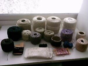 Destash Crochet Cotton SCRAP