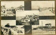 HAVANA CUBA 5 DIFFERENT VIEWS FAMOUS LANDMARKS CIRCA 1907-18 RPPC P/C