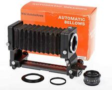 Auto Bellows Pentax M42, 50mm f4 EL-Nikkor, M39 Enlarger Lenses Nikon Canon Sony