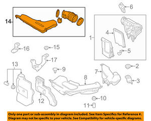 NISSAN OEM 14-18 Rogue Air Cleaner Intake-Intake Duct Tube Hose 165764BA3A