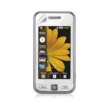 Housse étui coque rigide brillante pour Samsung Player One S5230 couleur blanc +
