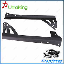 "Pair HD Jeep Wrangler JK for 50"" LED Light Bar Windscreen Roof Mounting Bracket"