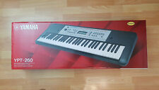 Yamaha Keyboard YPT-260 schwarz Vielseitiges Einsteiger Keyboard Musik, OVP