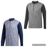 New!! adidas Golf Mens Core Layering 1/4 Zip Pullover choose size/ color