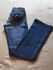 Distressed Stretch Denim Jeans Size 5 Underground Soul Boot Cut